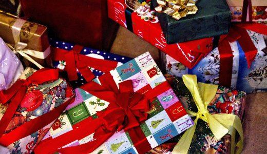 プレゼントする  例文(2)  Gracias por tu regalo de Navidad.