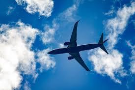 空を飛ぶ表現  例文(1)  Veo un avion volando.