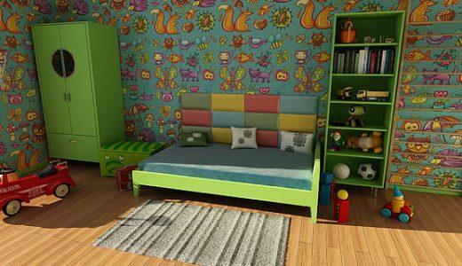部屋の種類  例文(3)  Vamos a decorar el cuarto de nin~os.